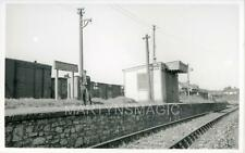 AB-Real Railway Photograph View LSWR Oreston Station 1960's