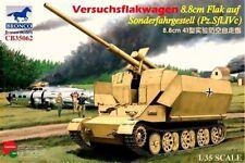 BRONCO CB35062 1/35 Versuchsflakwagen 8.8cm Flak 41 auf Sonderfahrgestell