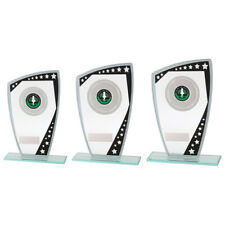 COSMIC STAR BLACK 5mm Glass TROPHY AWARD 3 SIZES FREE ENGRAVING and logo