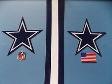 Dallas Cowboys football helmet decals set
