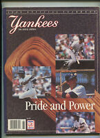 New York Yankees 1988 Offical Yearbook  39th Annual Edition    MBX21