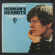 HERMAN'S HERMITS: There's A Kind Of Hush / No Milk Today 45 (PS) Rock & Pop