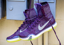 Nike Kobe X Elite Men's Shoes Grand Purple/Reflect Silver-Volt 718763-505
