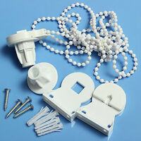HK- FT- Roller Blind Shade Cluth Bracket Bead Chain Repair Parts Set for 25mm Tu