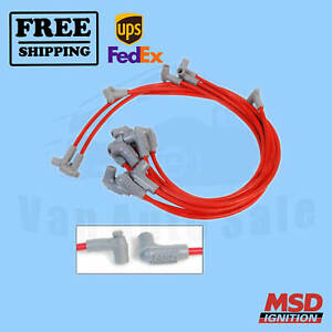 Spark Plug Wire Set MSD New for GMC C15/C1500 Suburban 1967-1974