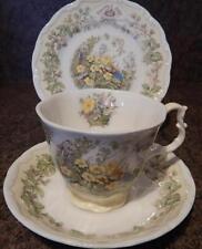 Tea Cup & Saucer Royal Doulton Brambly Hedge Porcelain & China