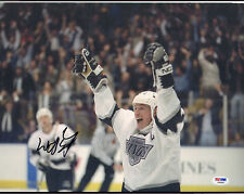 WAYNE GRETZKY SIGNED AUTO'D 11X14 PHOTO PSA/DNA AB08800 NHL KINGS OILERS RANGERS