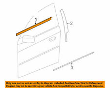 SEALING STRIP, Front Door Window Channel LH GENUINE GM 25778953  2003-2007 CTS