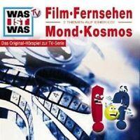 WAS IST WAS FOL 12 FILM &FERNSEHEN/MOND & KOSMOS CD NEU