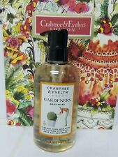 Crabtree & Evelyn GARDENERS Body Wash 10.1 Fl Oz NEW
