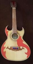 Guitarras De Parracho  Micas Bajo Quinto (Pickguards Only) Red Roja