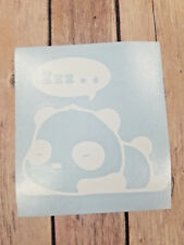 Cute Sleeping Panda Car Window Yeti Laptop Decal. Color Size Available