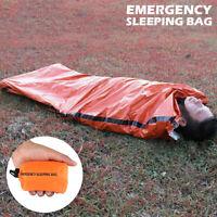 Large Abri camping extérieur imperméable sac de couchage Urgence survie secours