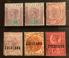 Zululand stamps