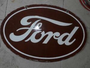 D/écoration murale Look vintage d/écoration de cuisine Plaque en m/étal /« None Brand FoMoCo /» authentique pour Ford Style rustique