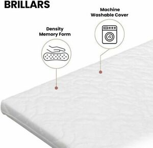 NEW TUTTI Bambini CoZee Bedside Crib Quilted Mattress FULLY BREATHABLE /& cover