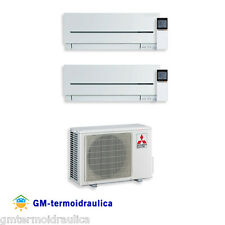 Climatizzatore Inverter Dual Split Mitsubishi MSZ SF 9000 12000 BTU 2d42va