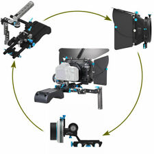 DP500III Matte Box+A/B Stop Follow Focus+Baseplate+Handle Rig Kit for BMPCC 5D2