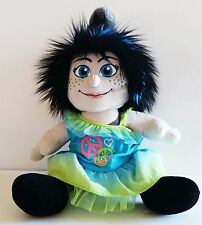 """Build a Bear Workshop Vexy Smurfs 17"""" Plush w/Neon Outfit Stuffed Doll Toy 2013"""