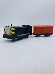 Mavis Thomas Tank Trackmaster Tomy Motorized Train With Boxcar
