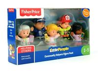 NEW Fisher Price Little People Community Helpers Figure Pack (Set of 5)