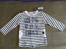 3pommes baby boy top, long sleeve, size 6M, 100%COTTON, new with tag