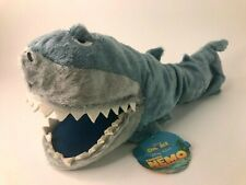 Disney On Ice Finding Nemo Shark Puppet Toy Tagged Mint Condition