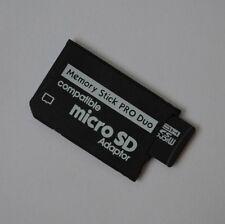Memory STICK PRODUO Adattatore + 8 GB 8gb microSDHC scheda di memoria per Sony PSP