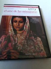 """DVD """"EL ARTE DE LAS MINIATURAS"""" PRECINTADO SEALED MERCHANT JAMES IVORY PEGGY ASH"""