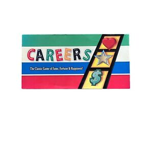 Careers Board Game By Winning Moves 2007 Classic Fame Fortune Happiness COMPLETE