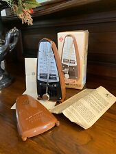 Wittner taktell Piccolo Vintage European metronome from West Germany. Must See!