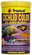 TROPICAL CICHLID COLOR XXL Flakes 1L TROPICAL FISH FOOD