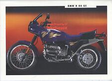 Genuine BMW R80GS (1993) Dealership Sales Brochure R 80 GS R80 800 Trailie AB09