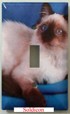 Balinese Cat Light Switch Power Outlet Duplex Cover Plate Home Decor