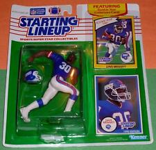 1990 DAVE MEGGETT New York Giants Rookie - low s/h - Starting Lineup