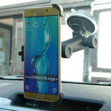Support de voiture de GPS noirs Samsung Galaxy S6 pour téléphone mobile et PDA