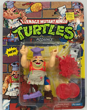 Teenage Mutant Ninja Turtles Pizza Face  - MOC unpunched 1990