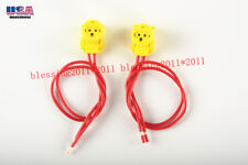For HONDA ODYSSEY AIRBAG CLOCKSPRING PLUGS WIRE CONNECTOR NEW 2pcs