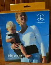 Hippychick Hipseat - Baby and Toddler Carrier, 6-36 months - black