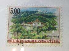 Liechtenstein SC #1077 Architecture  used stamp