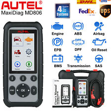Autel MD806 Auto Diagnostic Tool OBD2 Code Reader Transmission ABS SRS EPB DPF