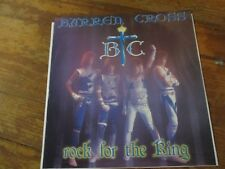"Barren Cross ""Rock for the King"" Star Song Christian Rock 12"" Single Promo"