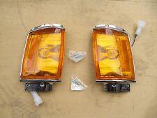 FOR Toyota Hilux Pickup 4Runner 1984-86 Chrome Corner Light Lamp Indicator