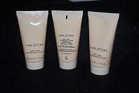 HALSTON Body Lotion 1.7 Fl oz Lot of 3 S5697