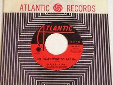 Barbara Lewis-My Heart Went Do Dat Da-1962 US Soul 45-NEAR MINT/NOS
