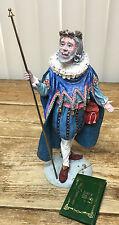 Duncan Royale Le History Sir Christmas Santa Claus Ii 1985 Figurine Coa Signed