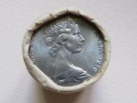 Australia. 1970  20c Mint Roll..  (20 coins  UNC/BU)  RAM wrapper