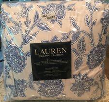 Lauren Ralph Lauren Porcelain Floral All Season Comforter Set Tamarind Blue LOOK