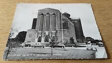 Guildford  Cathedral, old cars Rover,  Ford Popular, Austin, Rolls Royce,  RPPC