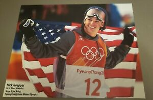 NICK GOEPPER AUTOGRAPH SIGNED PHOTOGRAPH SIGNED 8X10 AMERICAN FREESTYLE SKIER US